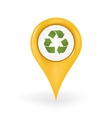Recycling Location vector image vector image