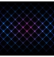 Abstract neon light black texture vector image vector image