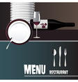 menus for restaurants and bars vector image vector image