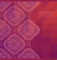 ornate border background vector image