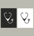 stethoscope - icon vector image vector image