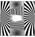 comic black and white concept vector image vector image