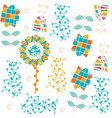 floral elegance seamless pattern it is located in vector image vector image