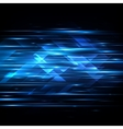 High speed Hi-tech Abstract technology vector image vector image