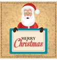 Merry christmas colorful card design vector image vector image