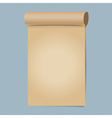 Old papers ready for your message vector image