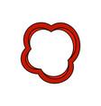 pepper slice icon vector image