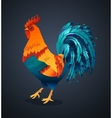 realistic rooster picture or vector image vector image