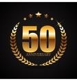 template logo 50 years anniversary