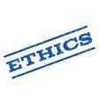 Ethics Watermark Stamp vector image vector image