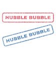 hubble bubble textile stamps vector image vector image