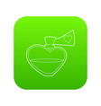 love potion icon green vector image vector image