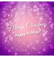 Merry Christmas Blurred Festive Background vector image vector image