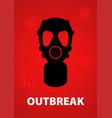 virus outbreak vector image vector image
