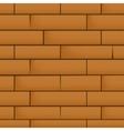 Wall with masonry vector image vector image