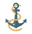 Anchor symbol icon vector image vector image