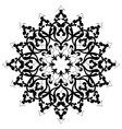 Antique ottoman turkish design three vector image vector image