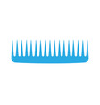 Comb hair icon isolated style brush barber female