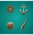 Icons Sea vector image vector image