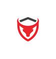 taurus logo template icon vector image vector image