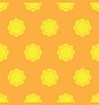 sun seamless pattern vector image
