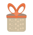 colored gift box cute present party vector image vector image