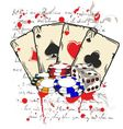 game casino vector image