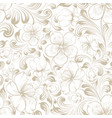 marriage invitation seamless pattern vector image vector image