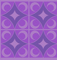 purple carpet seamless pattern vector image vector image