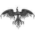 Tattoo Tribal Phoenix vector image
