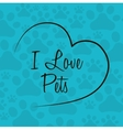 Animals pet shop graphic vector image vector image