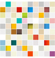 colorful retro seamless squares pattern vector image