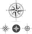 Compass Rose Collection vector image vector image