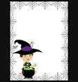 halloween background with space for text and of vector image vector image