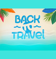 background with beautiful blue waves and vector image