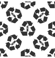 Battery with recycle symbol - renewable energy