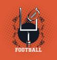 football balloon icon vector image vector image