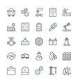 Industrial Cool Icons 2 vector image