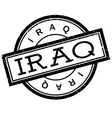 Iraq rubber stamp vector image vector image