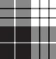 Macleod tartan black white seamless pattern vector image vector image
