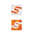 save download preview letter s vector image