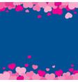 valentine background design vector image vector image