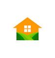 house farm logo icon design vector image
