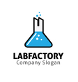 Lab Factory Design vector image vector image