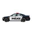 nursery police car drawing patrol automobile vector image