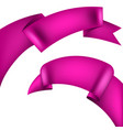 realistic decorative ribbon eps 10 vector image vector image