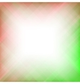 Abstract Elegant Red Green Background vector image vector image