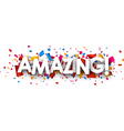 Amazing paper background vector image vector image