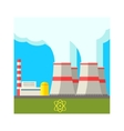 Atomic Power Station vector image vector image