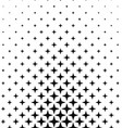 Black and white polygon pattern design background vector image